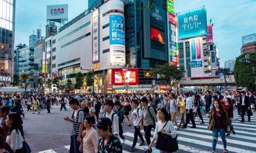 Shibuya au japon