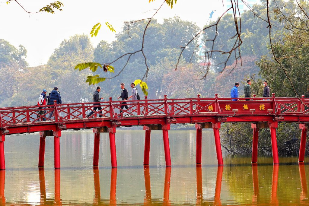 Pont, Hanoi, Vietnam